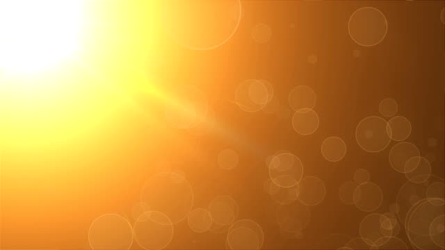 Refraction-of-light-of-warm-sun---rays-sky-and-flying-particles-modern-abstract-background-computer-generated-3d-render