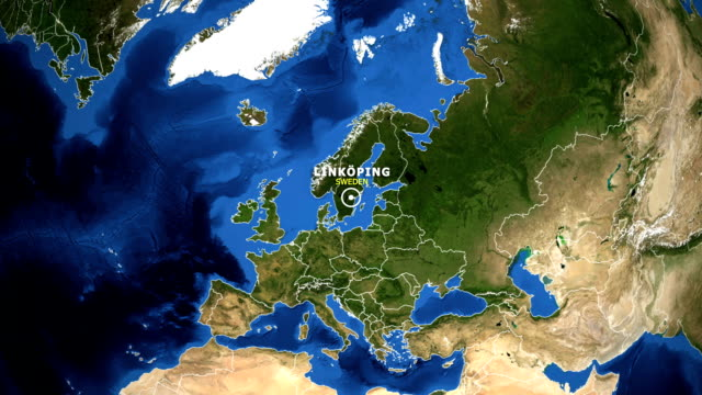 EARTH-ZOOM-IN-MAP---SWEDEN-LINKOPING