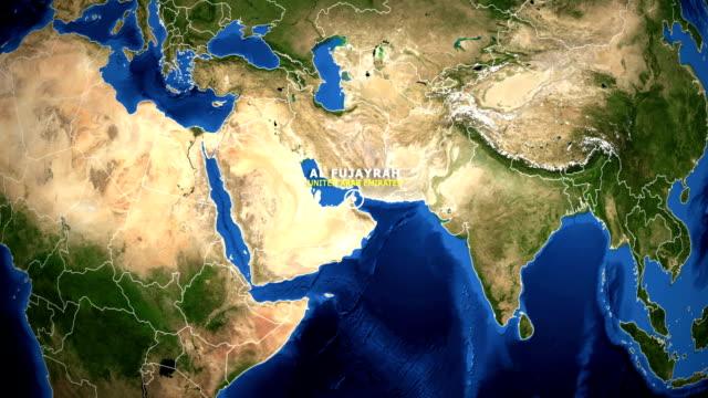 EARTH-ZOOM-IN-MAP---UNITED-ARAB-EMIRATES-AL-FUJAYRAH