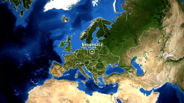 EARTH-ZOOM-IN-MAP---POLAND-BYDGOSZCZ