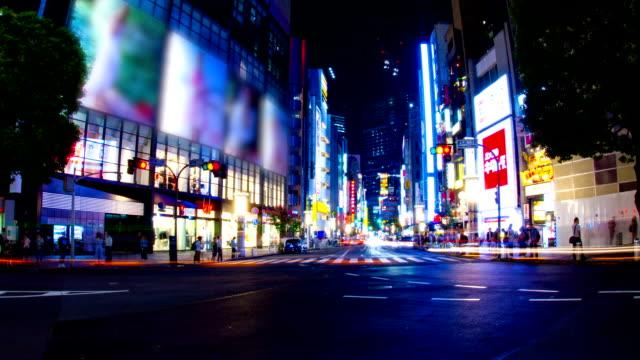 Night-time-lapse-at-Shibuya
