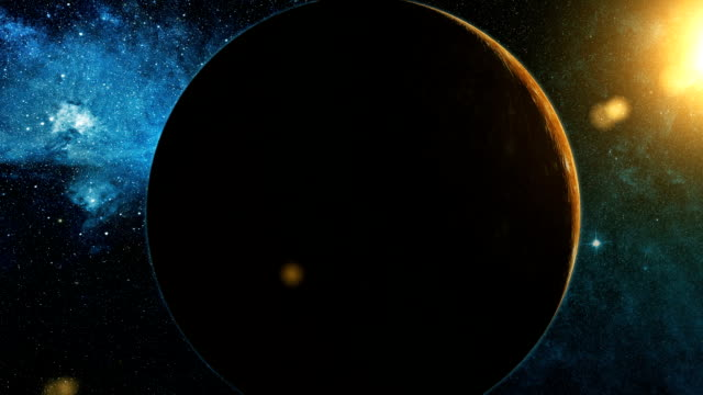 Realistic-Planet-Mercury-from-space