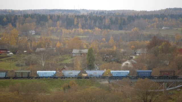 Cargo-Train-in-a-Valley