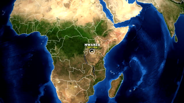 EARTH-ZOOM-IN-MAP---TANZANIA-MWANZA