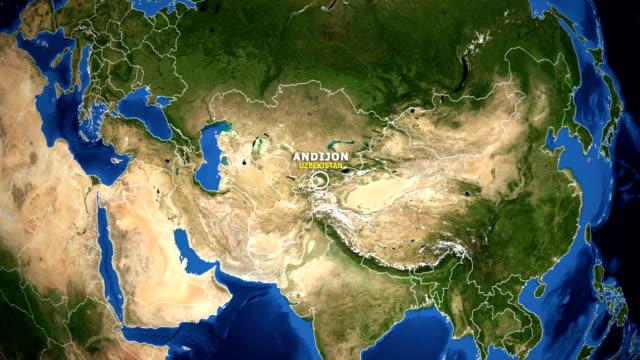 EARTH-ZOOM-IN-MAP---UZBEKISTAN-ANDIJON