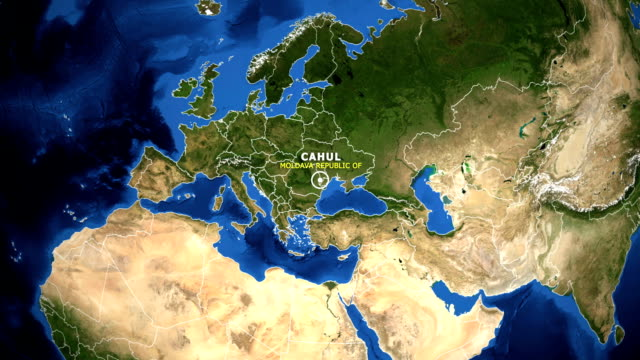 EARTH-ZOOM-IN-MAP---MOLDAVA-REPUBLIC-OF-CAHUL
