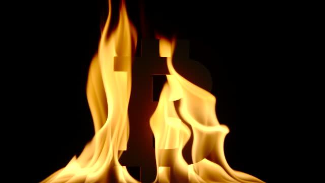 SLOW:-Burning-Bitcoin-symbol