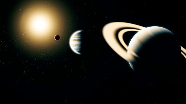 Realista-planeta-Saturno-desde-el-espacio-profundo