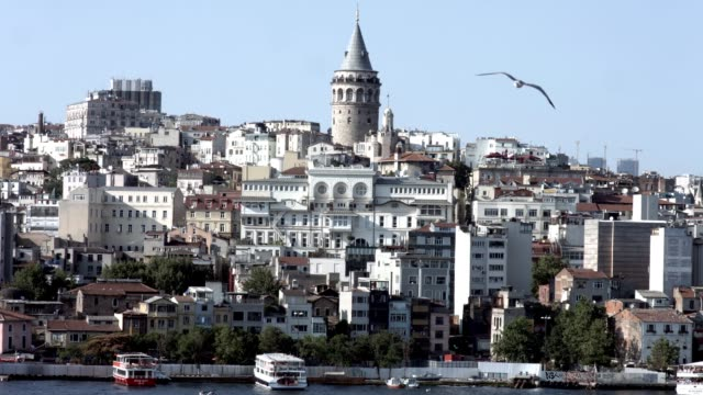 Galata-Tower-and-Istanbul-Golden-Horn