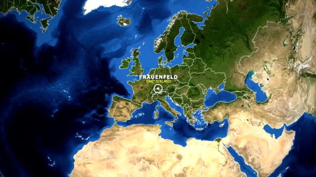 EARTH-ZOOM-IN-MAP---SWITZERLAND-FRAUENFELD