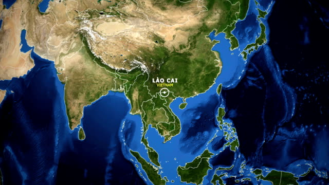 EARTH-ZOOM-IN-MAP---VIETNAM-LAO-CAI