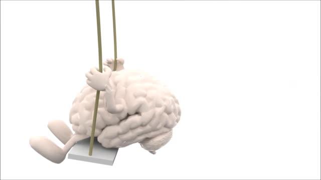 cerebro-y-el-corazón-con-brazos-y-piernas-en-un-columpio