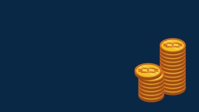 Bitcoin-cryptocurrency-money-HD-animation