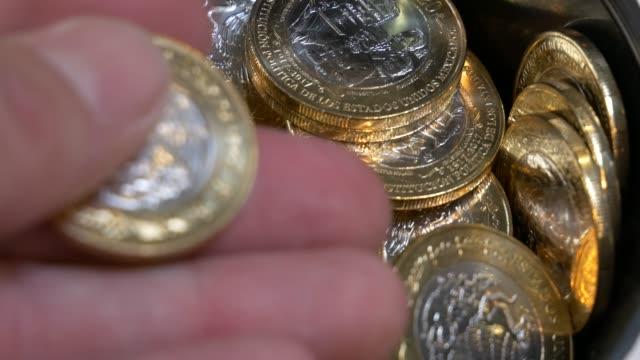 Mexico-20-pesos---collection-of-money