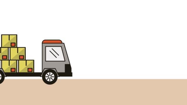 carro-cajas-entrega-servicio-animación