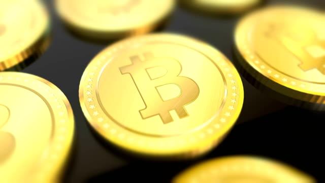 Shiny-bitcoins-animated-background