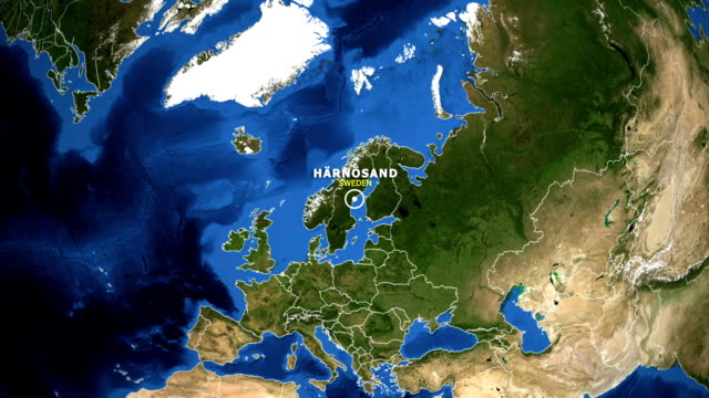EARTH-ZOOM-IN-MAP---SWEDEN-HARNOSAND