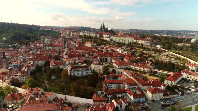 Panoramic-view-from-above-on-the-Prague-Castle-view-from-above-on-the-cityscape-of-Prague-Old-Town-Square-Prague