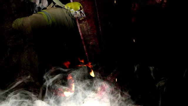 Horror-Background-Disturbing-background-for-your-horror-thriller-and-suspense-videos-with-fireman-in-action