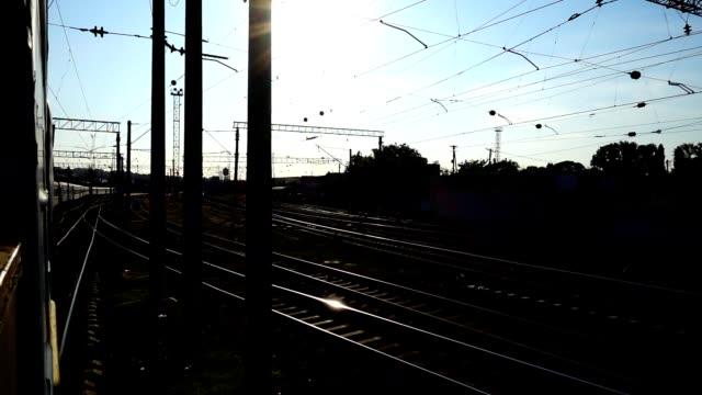 El-rodaje-del-tren-en-movimiento-