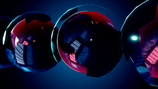 Abstract-CGI-motion-graphics-with-blue-background
