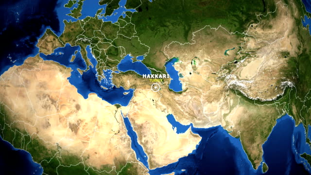 EARTH-ZOOM-IN-MAP---TURKEY-HAKKARI