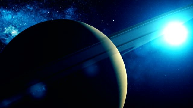Realistic-Planet-Saturn-from-space