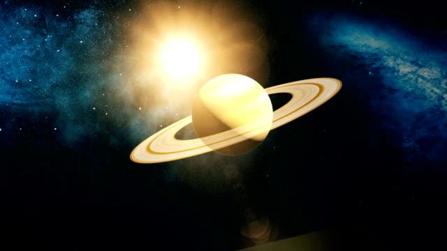 Realista-el-planeta-Saturno-desde-el-espacio