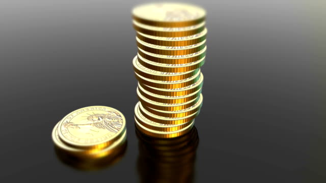 Shiny-dollar-coins-animated-background