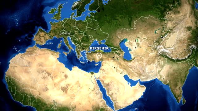 EARTH-ZOOM-IN-MAP---TURKEY-KIRSEHIR