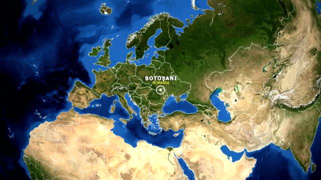 EARTH-ZOOM-IN-MAP---ROMANIA-BOTOSANI