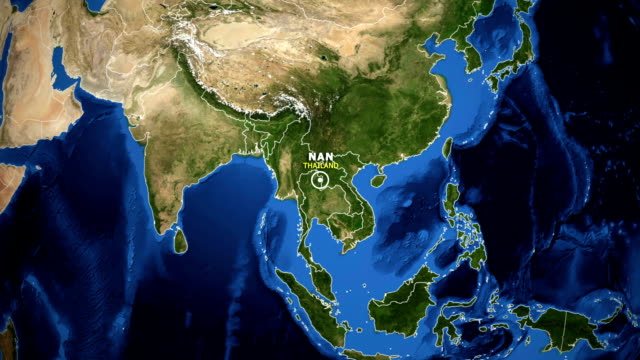 EARTH-ZOOM-IN-MAP---THAILAND-NAN
