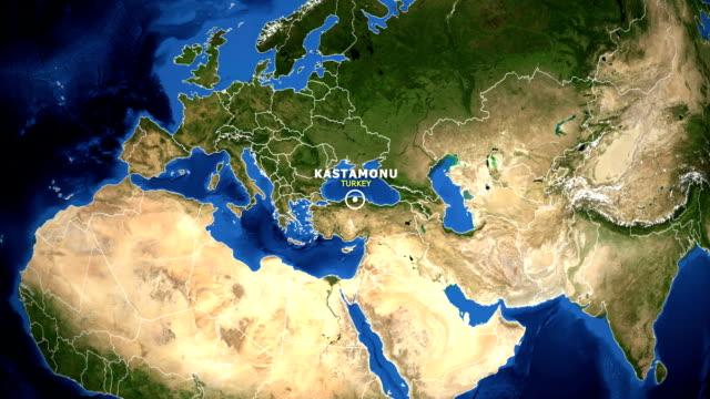 EARTH-ZOOM-IN-MAP---TURKEY-KASTAMONU