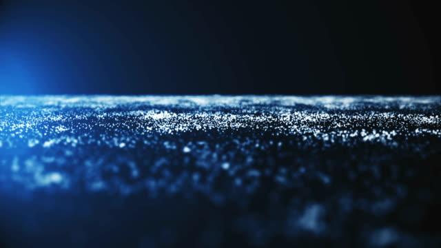 Zusammenfassung-Hintergrund-mit-Umzug-und-Flicker-Partikeln-Auf-schönen-entspannenden-Hintergrund-