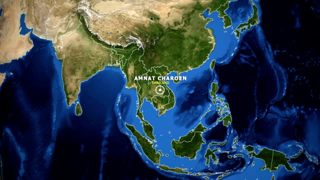 EARTH-ZOOM-IN-MAP---THAILAND-AMNAT-CHAROEN