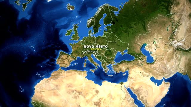EARTH-ZOOM-IN-MAP---SLOVENIA-NOVO-MESTO