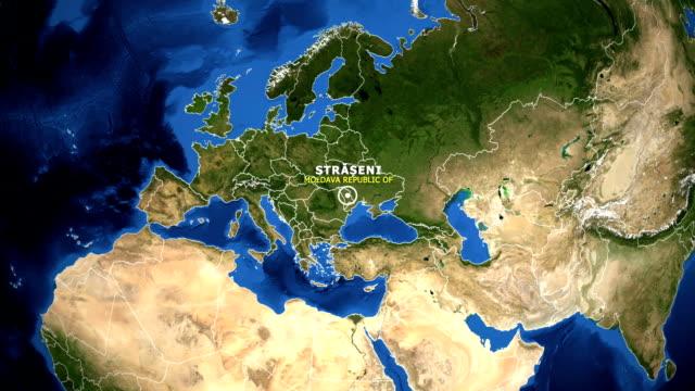 EARTH-ZOOM-IN-MAP---MOLDAVA-REPUBLIC-OF-STRASENI