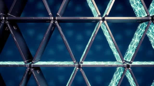 Castillo-de-naipes-de-los-teléfonos-inteligentes-Redes-neuronales-en-las-pantallas-Símbolo-de-la-inestabilidad-de-la-inteligencia-artificial-