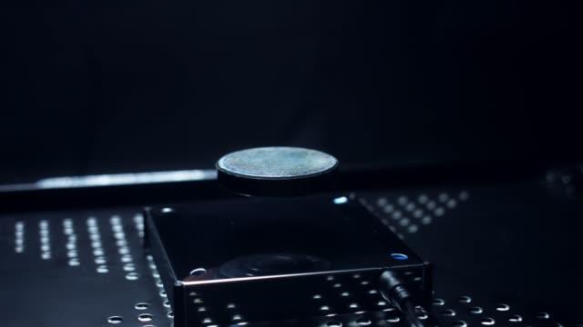 4K-Abstract-Levitation-Platform-On-Black-Background