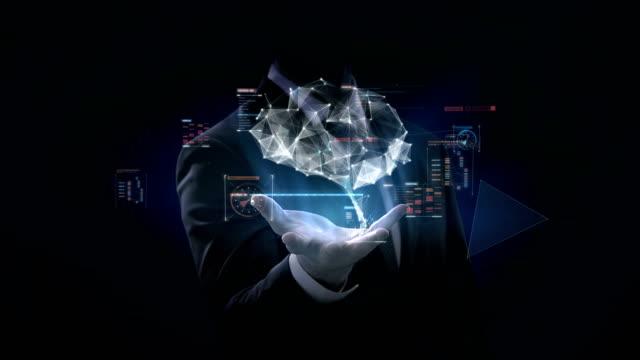 Hombre-de-negocios-abre-Palma-cerebro-conectar-líneas-digitales-con-interfaz-digital-cultivar-la-inteligencia-artificial-4-película-de-k-