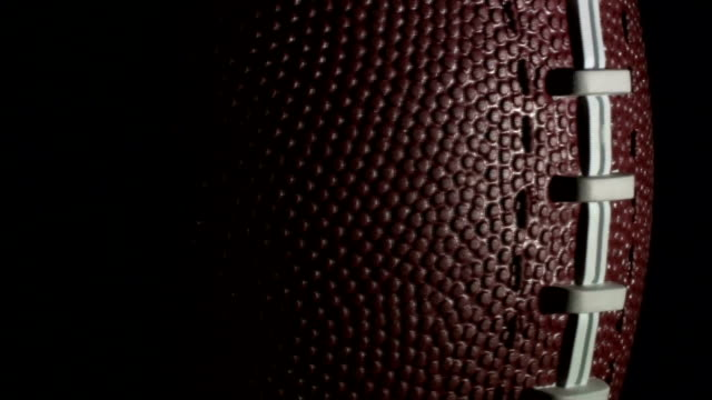 Football-rotates-in-slow-motion---HD