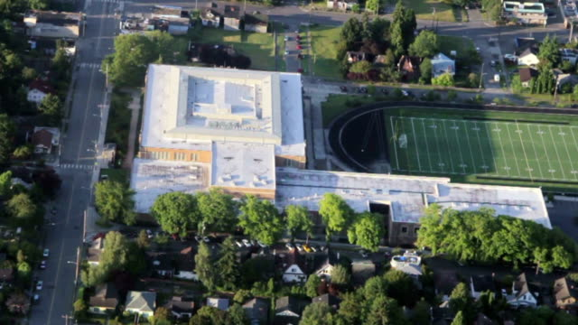 Urban-Area-High-School-and-Field-Overhead-View