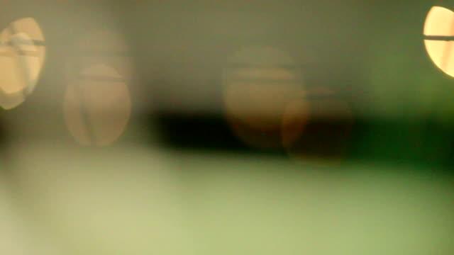 Abstract-borrosa-vista-de-red-de-fútbol-(soccer-puerta)