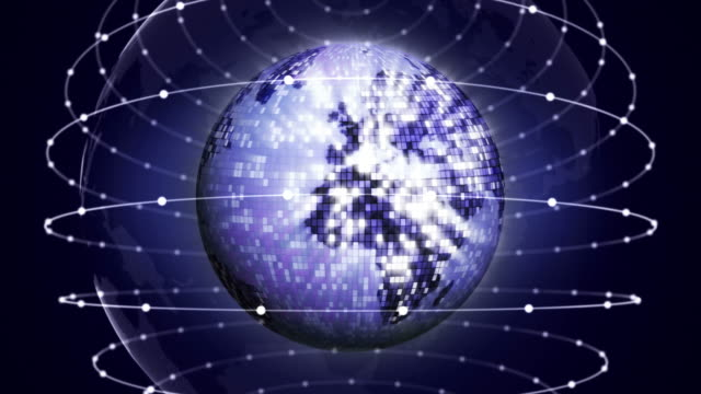Earth-Disco-Ball-Background-Loop