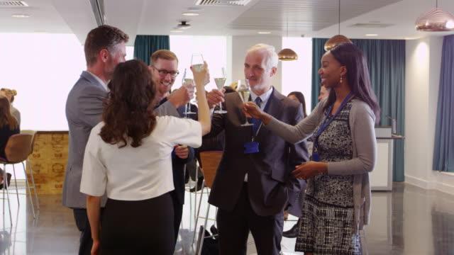 Delegates-Network-At-Conference-Drinks-Reception-Shot-On-R3D