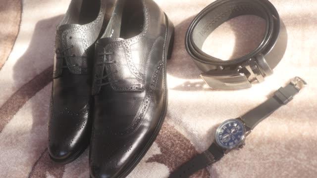 Wedding---groom-s-accessories---men-s-shoes-belt-watch