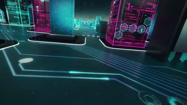 Kryptowährung-ist-Bargeld-mit-Flügeln-mit-digitaler-Technologie-Konzept