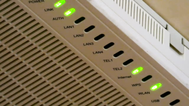 Green-LED-lights-flashing-on-router