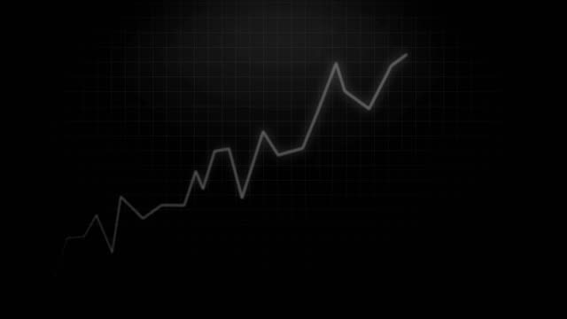 Financial-Trade-Increase-on-Black-Chart---Stock-Exchange-Background-Animation-Video-in-4k-Resolution-