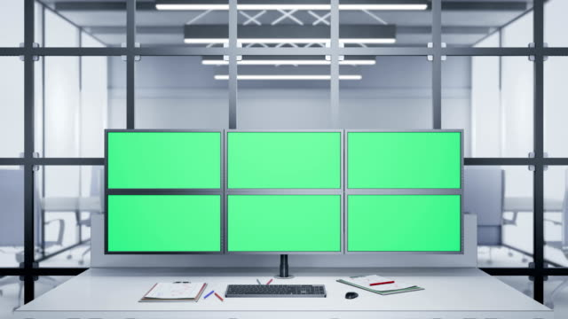 Camera-zoom-to-Multiple-Monitors-with-chroma-key-